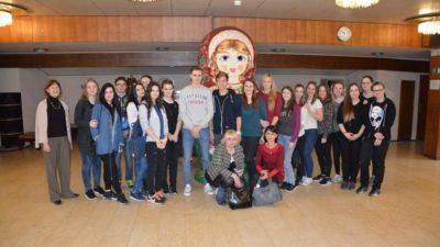 Studenti 2. ročníku oboru Cestovní ruch v Praze