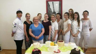 Kurz potahování dortů