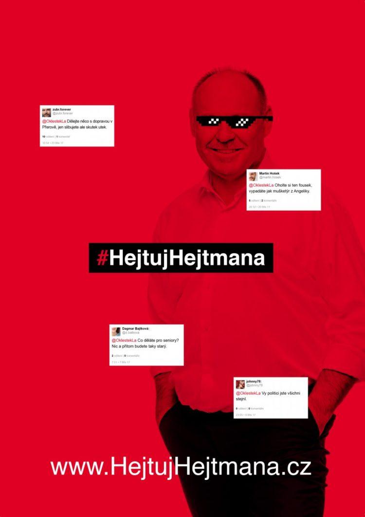 Hejtni hejtmana!