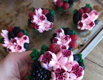Kurz pečení a zdobení cupcakes
