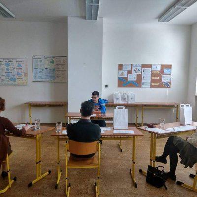 Krajské kolo konverzační soutěže vanglickém jazyce pro střední odborné školy
