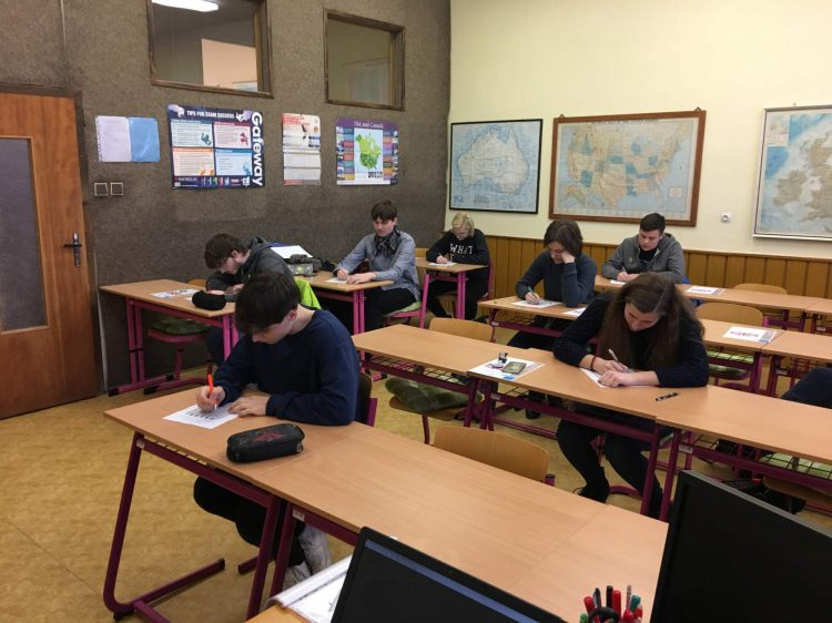 Okresní kolo konverzační soutěže vanglickém jazyce