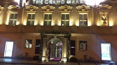 Praxe vhotelu The Grand Mark Prague