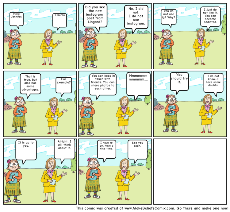 Anglický komiks